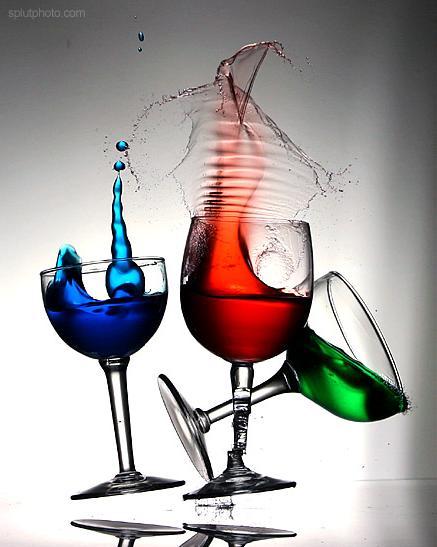 La noche del rev s la vida del reves for Copas y vasos para bar